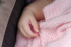 Baby hand Royalty Free Stock Photography