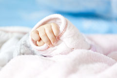 Baby hand Stock Photography