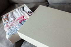 Baby handkerchiefs Stock Images