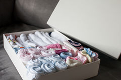 Baby handkerchiefs Royalty Free Stock Photos