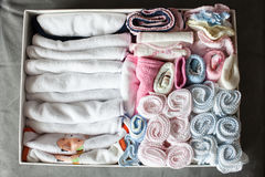 Baby handkerchiefs Stock Photography