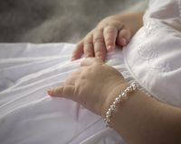 Baby hands Stock Photography