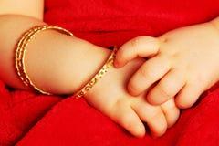 Baby hands Stock Image
