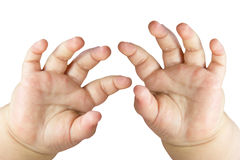 Baby hands Royalty Free Stock Photo