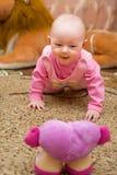 Baby is happy Stock Photo