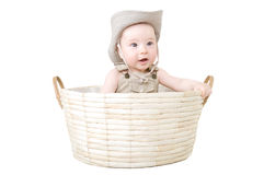 Baby in a hat. Stock Photos