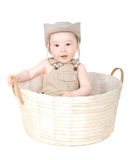 Baby in a hat. Stock Image