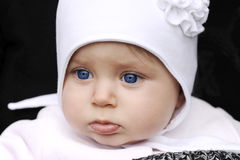 Baby with hat Royalty Free Stock Photos