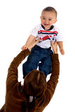 Baby having fun with her mum Royalty Free Stock Photography