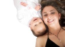 Baby and her mum Royalty Free Stock Photo