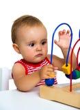 Baby het spelen stock afbeeldingen
