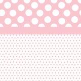 Baby-Hintergrund-Muster Lizenzfreies Stockbild