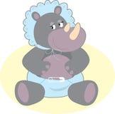 Baby Hippo Stock Photography
