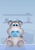 Baby hippo Stock Photo