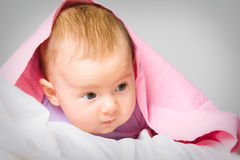 Baby at home Royalty Free Stock Images