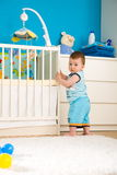 Baby at home Stock Photo