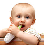 Baby hygiene Royalty Free Stock Images