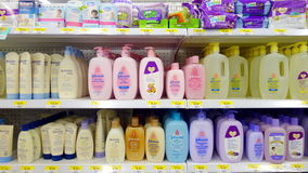 Baby Hygiene Products Royalty Free Stock Photo