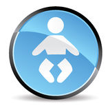 Baby icon Stock Images