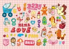 Baby icon Stock Photos