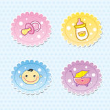 Baby icon Royalty Free Stock Images