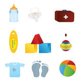 Baby icon Stock Image