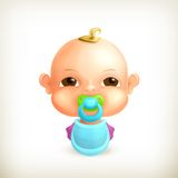 Baby, icon Stock Photography