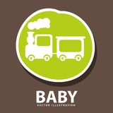 Baby icon design Stock Photos
