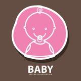 Baby icon design Stock Photo