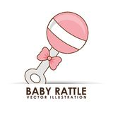 Baby icon Royalty Free Stock Photo