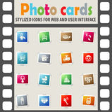 Baby icon set. Baby web icons for user interface design Royalty Free Stock Photos