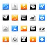 baby icons 库存图片