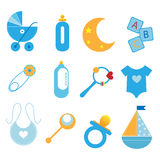Baby Icons - Boy Stock Photos