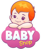 Baby Illustration Royalty Free Stock Photo