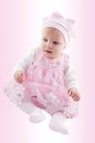Baby im Abendkleid Stockbilder