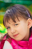 Baby im Rosa Lizenzfreie Stockbilder