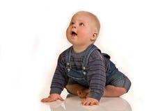 Baby im Studio lizenzfreie stockfotografie