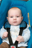 Baby In Car Royalty Free Stock Photography