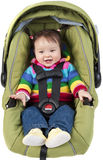 Baby In Car Seat Stock Photos