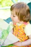 Baby In Garden Stock Images
