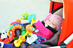 Free Baby In Stroller Stock Photography - 76238162
