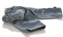 Baby or infant denim jeans Stock Photography
