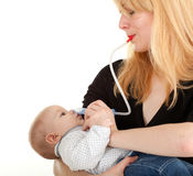 Baby infection Stock Photography