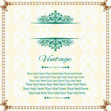 Baby Invitation Card Royalty Free Stock Images