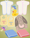 Baby Items Royalty Free Stock Photos
