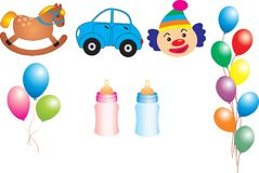 Baby Items s Royalty Free Stock Photos
