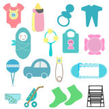Baby items Stock Photos