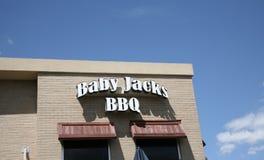 Baby-Jack-` s BBQ Lizenzfreie Stockbilder
