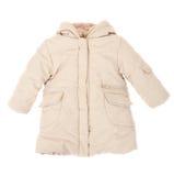 Baby jacket insulated on white background Stock Photography