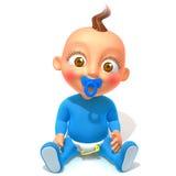 Baby Jake 3d illustration Stock Photography